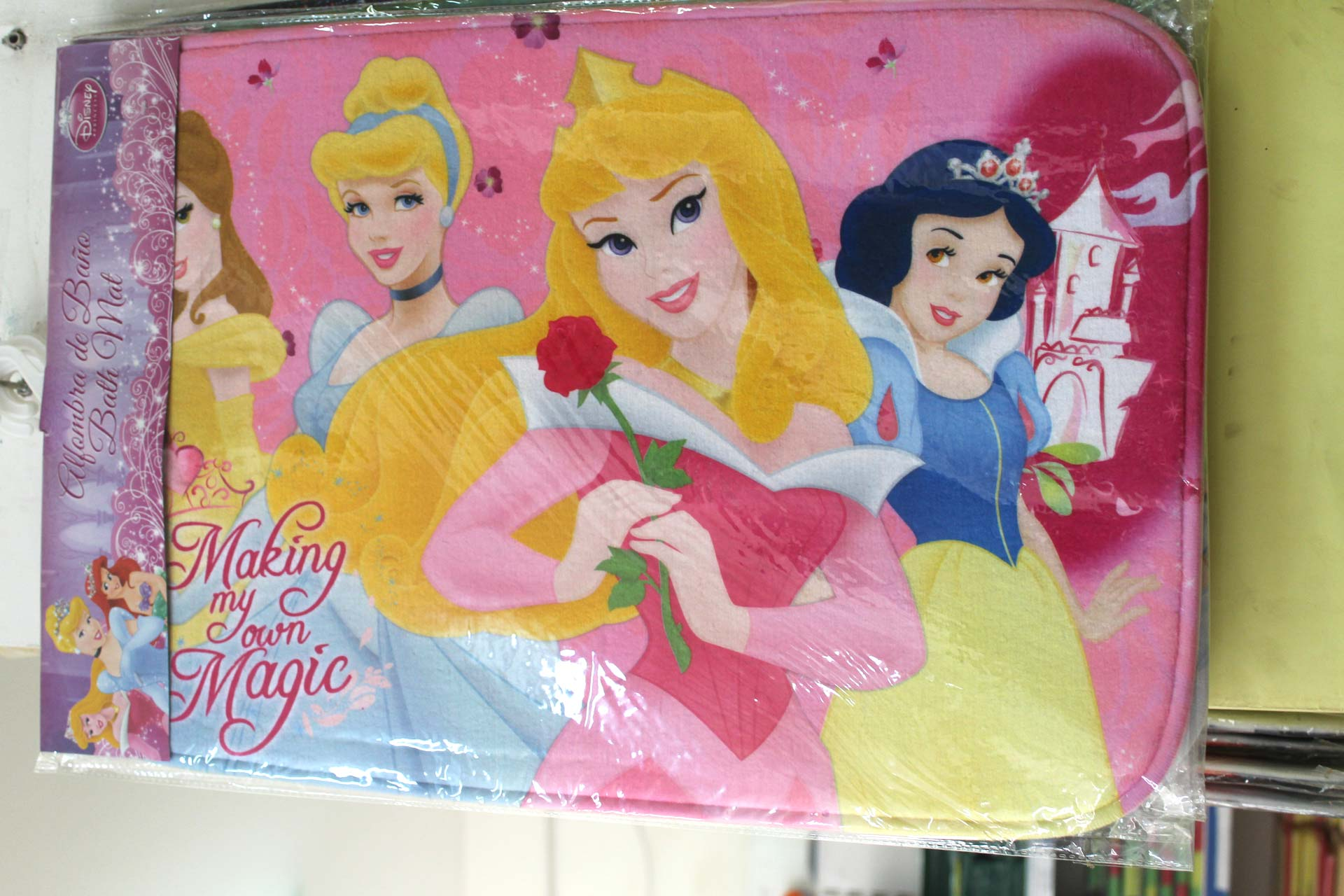 Disney princess bathroom